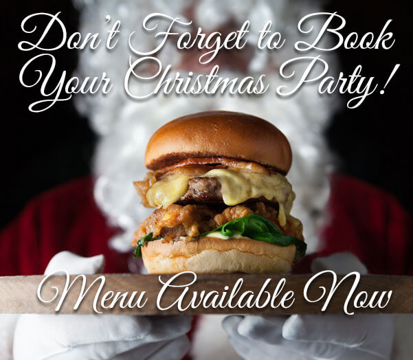 The Dorset Burger Company Christmas Menu